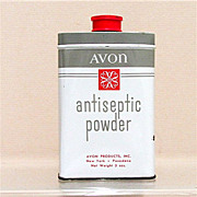 Advertising Tin for Avon Antiseptic Powder 50% OFF