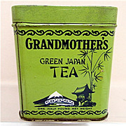 Grandmothers Tea Advertising Tin 50% OFF