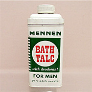 Advertising Talc Tin For Mennen Talc for Men 50% OFF