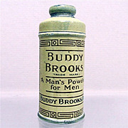 Talc Tin  Sample Size Buddy Brooks