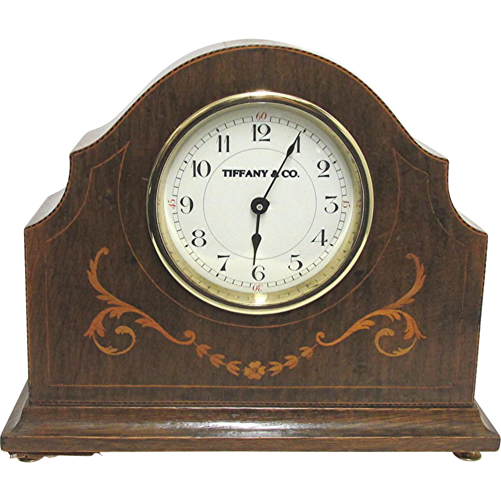 SOLD But We Have Others Inlaid French Antique Mantel Clock Runs and Keeps Time