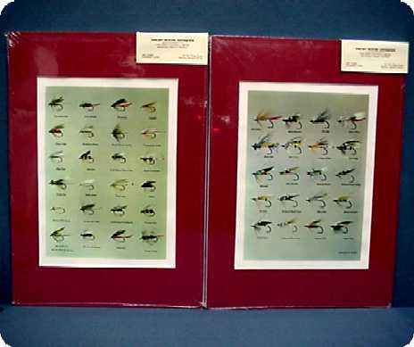 Two Prints of Darbee Tied Flies 50 % Off