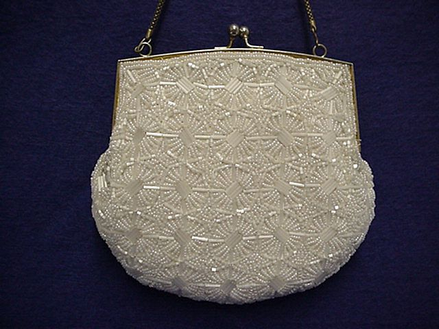 Beaded Hand Bag or Purse