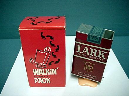 Lark Cigarettes Key Wind Walking Pack Mint In The Box