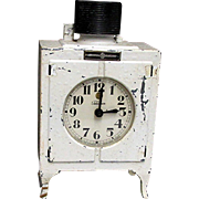 Advertising Clock Original G.E. Electric Refrigerator Clock Monitor Top Clock