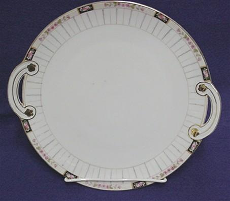 Cake Set Nippon Porcelain Platter and Six Servings   ***Selling at Cost