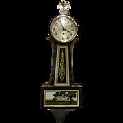 Small New Haven Banjo Clock
