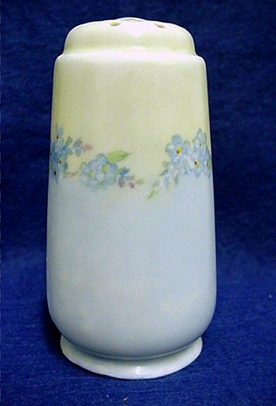 Hat Pin Holder Bavarian Porcelain Hatpin Holder