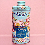 Advertising Tin California Perfume Co. Perfumed Talc Tin 50% OFF