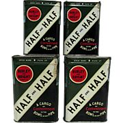 Half and Half Pocket Tobacco Tins $18 each