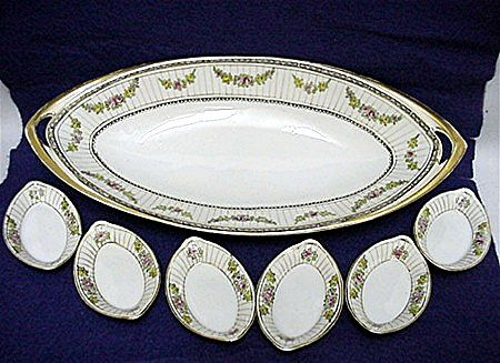Celery Set Nippon Porcelain   ***Selling at Cost