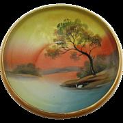 Noritake Bowl Hand Painted Porcelain Circa 1921