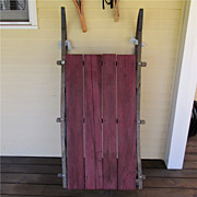 Antique Wood Farm Sled