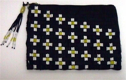 Beaded Purse Art Deco Hand Bag