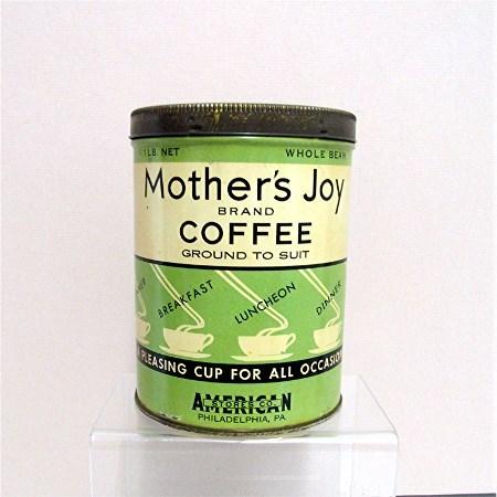 Mothers  Joy  Advertising Coffee  Tin