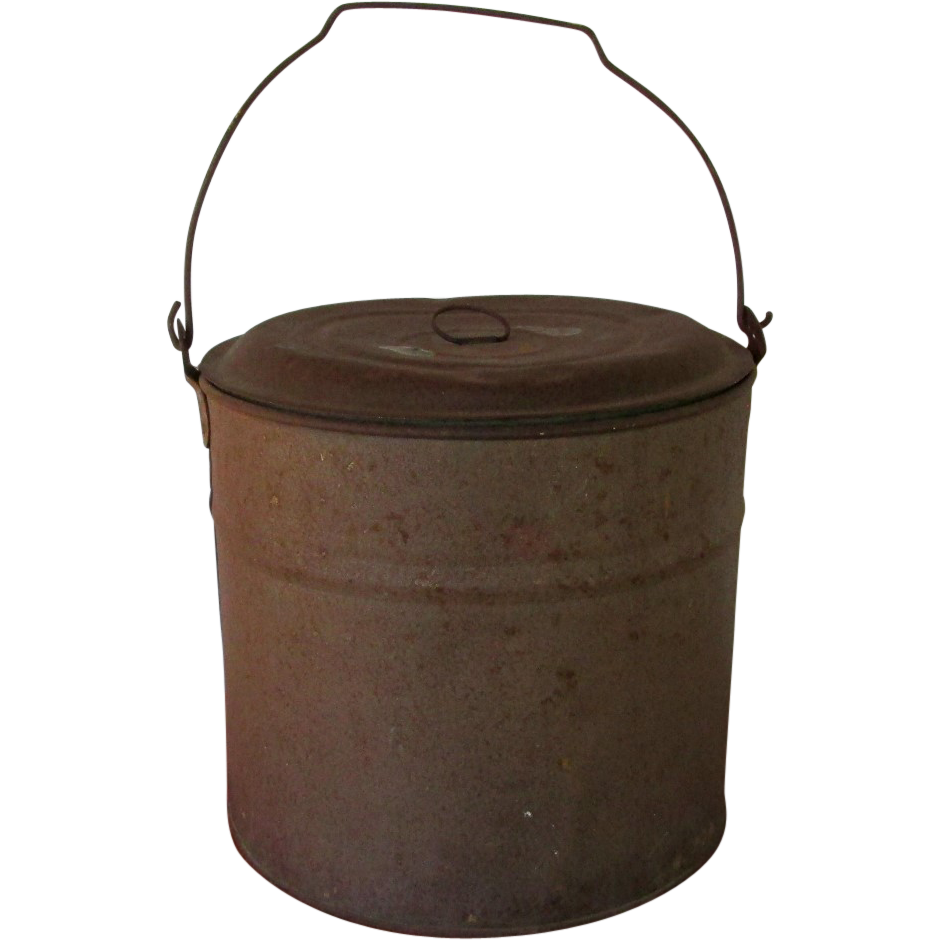 Tin Bucket or Pail