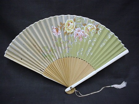 Fan Japanese Hand Held Folding Hand Painted