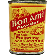 Bon Ami Powder Sample Advertising Tin