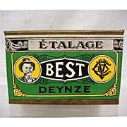 Best Tobacco Advertising Box