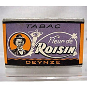Original Advertising Tobacco Box