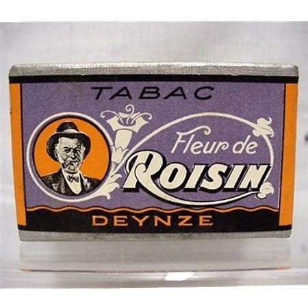 French Tobacco Box  Advertising Fleur de Roisin