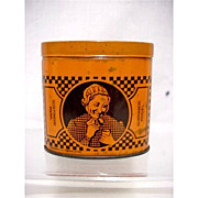Extra Peppermint Snuff Advertising Tin