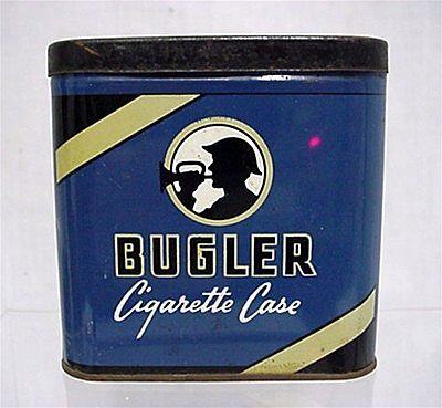 Bugler Pocket Advertising Tobacco Tin