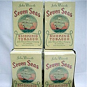 Store Display For Seven Seas Tobacco Mint Unused