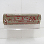 Balmadol S. C. Adams Co. Old Drugstore Pharmacy Item