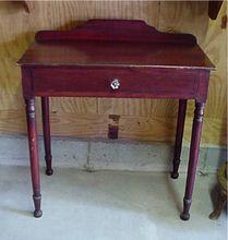 Pine Washstand American Antique