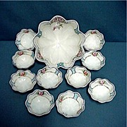 Nut Set 11 Piece Nippon Porcelain