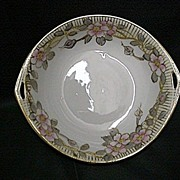 Nippon Porcelain Certified Mark Serving Dish Art Nouveau