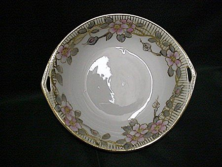 SOLD    Nippon Porcelain Certified Mark Serving Dish Art Nouveau    ***Selling at Cost