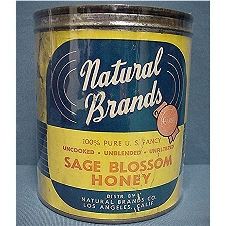 Honey Advertising Tin For Natural Brands