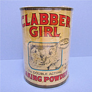 Clabber Girl 10 oz. Baking Powder Tin