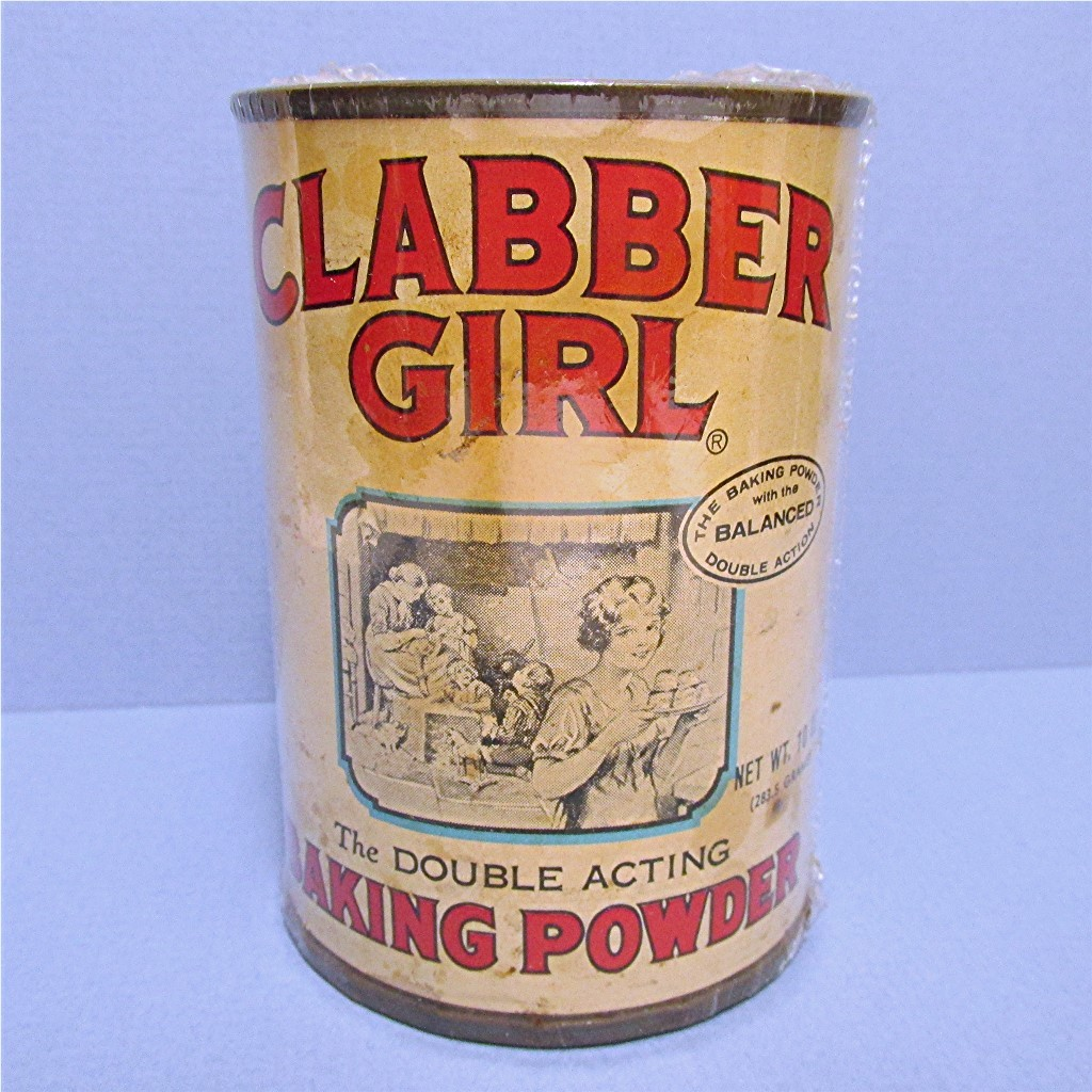 Clabber Girl 10 oz. Baking Powder Tin