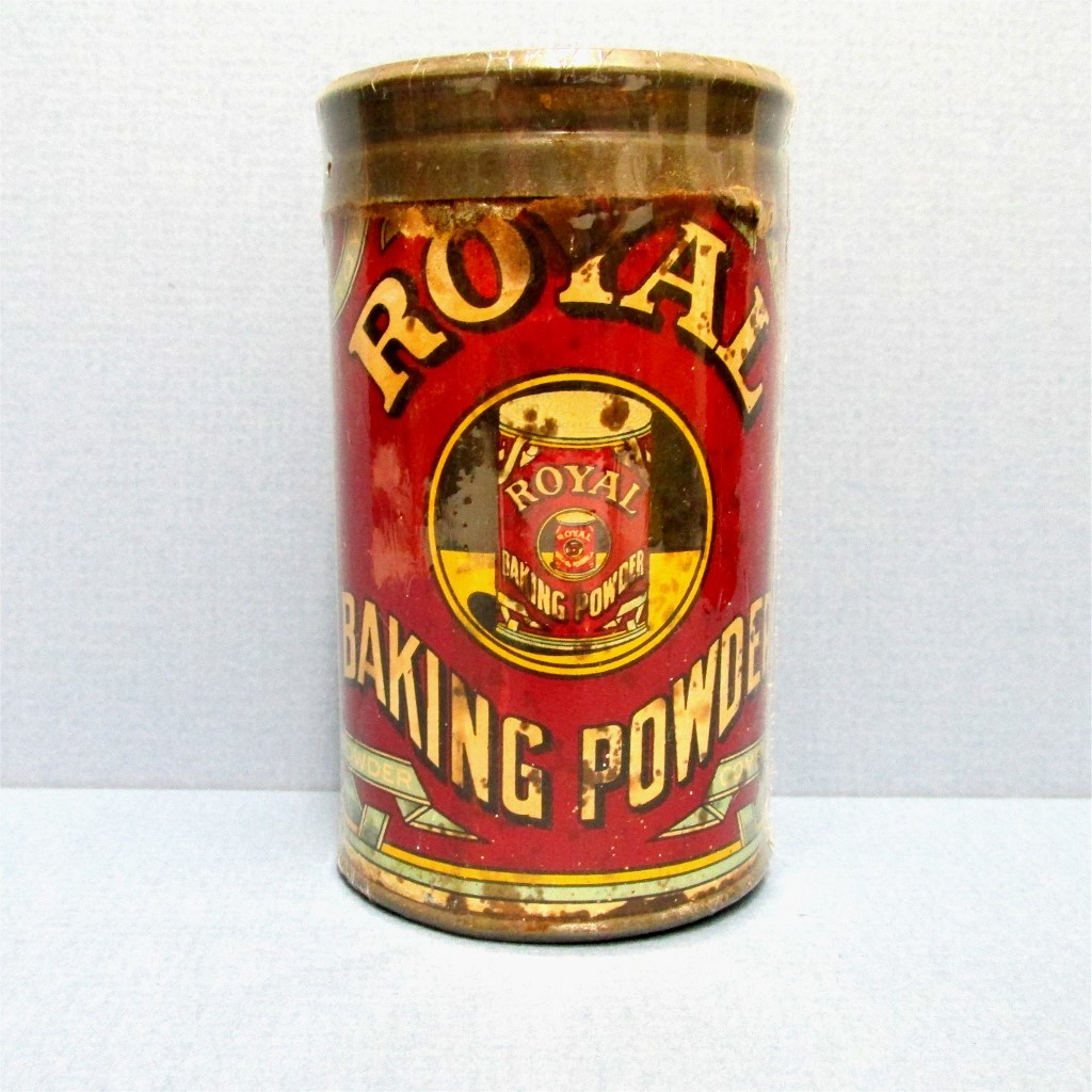Royal Baking Powder 6 ounce Advertising Tin