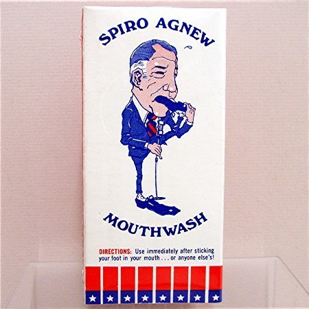 Spiro Agnew Mouth Wash Box Mint Unused Condition