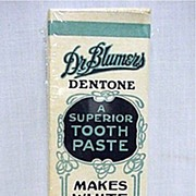 Dr. Blumers Tooth Paste Box MINT Unused