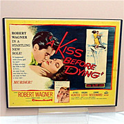 "Movie Poster or Broadside Kiss before Dying 21"" By 27"""