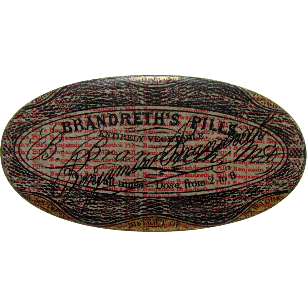Brandreth's Pills Tin Container