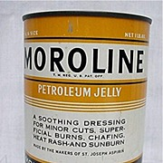 Tin Unopened Moroline Petroleum Jelly Near Mint