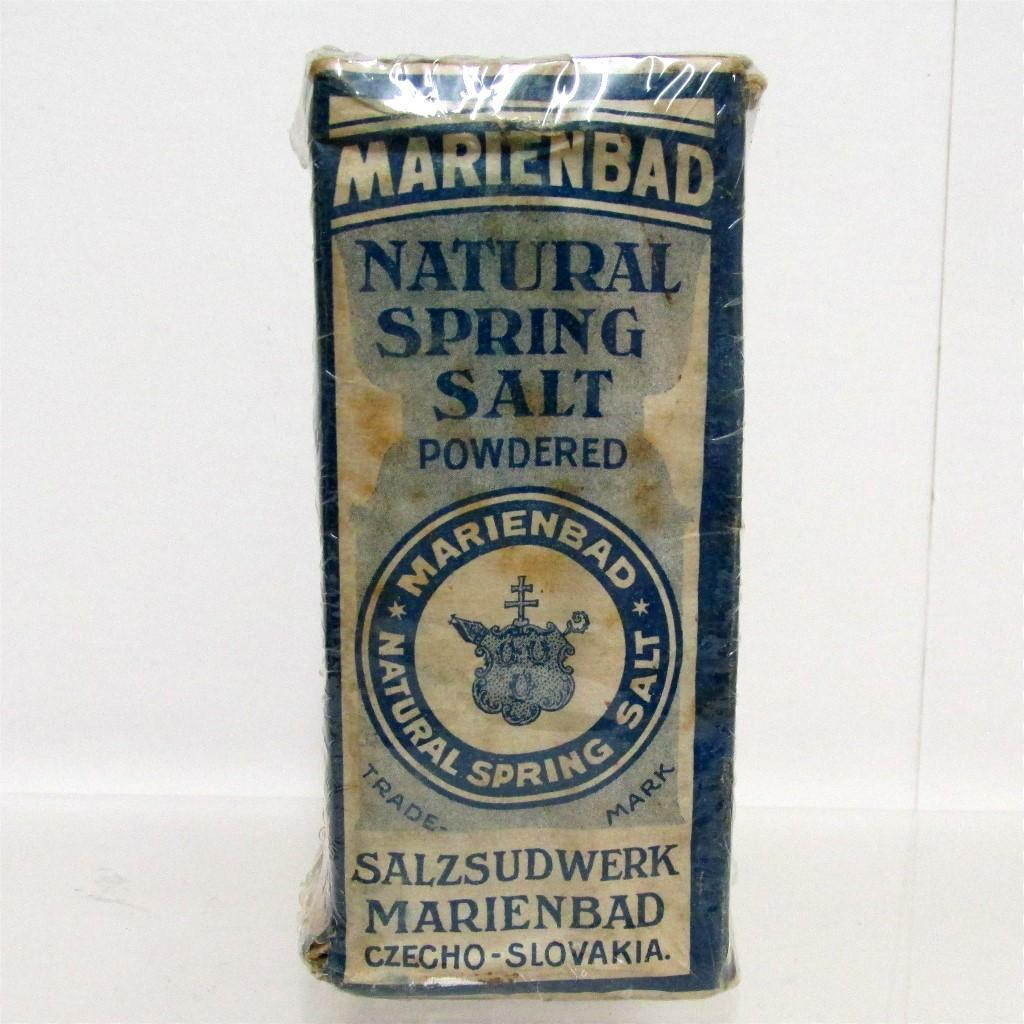 Marienbad Natural Spring Salt Unopened Pharmacy Item