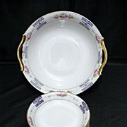 Nippon Porcelain Master Bowl and Six Servings