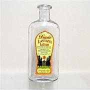 Lemon Lotion Bottle from an Old Pharmacy