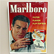 "Marlboro Cigarettes Advertising Sign 18"" by 25"""