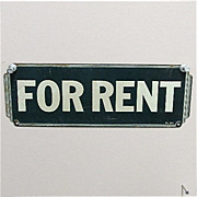 For Rent 1930 Tin Sign 50% OFF