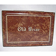 Old Briar Advertising Tobacco Tin