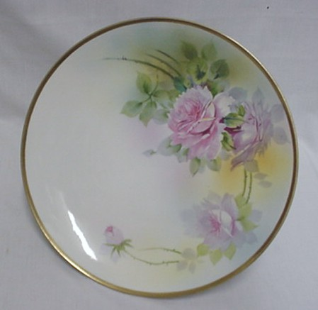 Nippon Cake Platter Hand Painted   ***Selling at Cost