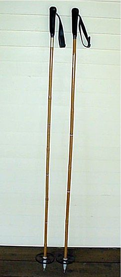 Ski Poles Bamboo Pair One Pair Of Many